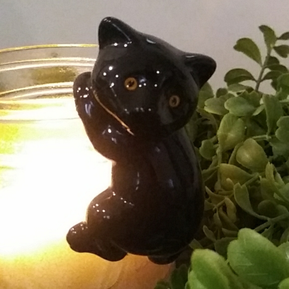 Yankee Candle BLACK CAT Jar Hanger HALLOWEEN